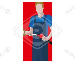 Icon / Clipart<br />Petrol Station Service