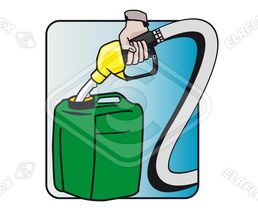 Icon / Clipart<br />Refuelling Canister