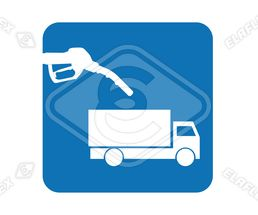 Icon<br />Commercial Vehicle with Nozzle